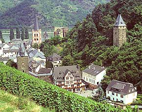 Bacharach - Hotel Pension Malerwinkel